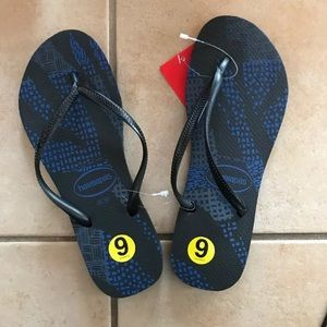 NWT Havaianas Women`s Flip Flops Slim Native